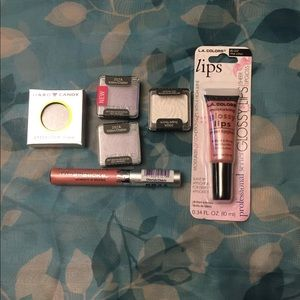 Listing is for 6 makeup products